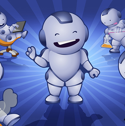 Karakter Tasarımı Robot