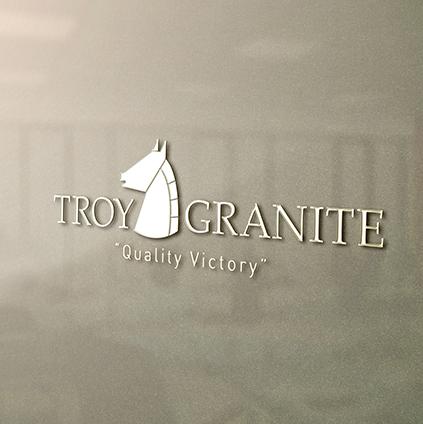 Troy Granite Kurumsal Kimlik Tasarımı
